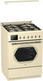 Комбинированная плита (50-55 см) Gorenje K537INI (а-розжиг, газ-контроль, 2 тэна,гриль,программатор)