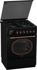 Комбинированная плита Gorenje K 637 INB (авторозжиг, газ-конроль, несколько режимов духовки)