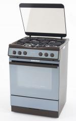 Комбинированная плита Kaiser HGE 62508 KB (газ-контроль, э\розжиг, нержавейка, 12 режимов работы)