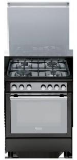 HOTPOINT-ARISTON Плита газовая с электрической духовкой CX 65S72 (A)
